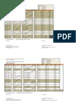 Jadual Waktu Ppg Jan 2013