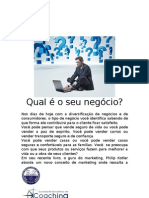 Artigo1_ por Claudia Farias_Qual é o seu negócio_ artigo para o curso de EMPREENDEDORES