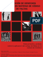 113366386 Relevamiento y Analisis Sobre La Aplicacion Del Codigo de Faltas en La Ciudad de Cordoba