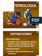 Bacteriologia generalidades