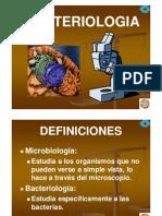 Bacteriologia generalidades