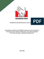 Reporte Balance Anual Final Buen Gobierno