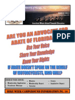 Southwest Chapter of ABATE of Florida March 2013 Newsletter