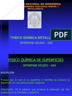 Interfase Solido - Gas