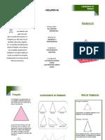 Triptico Clacificacion de Los Triangulos