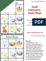 Youth Icebreakers - Easter Bingo