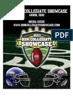 2013 BSN Collegiate Showcase Media Guide