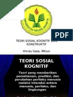 Teori Sosial Kognitif Dan Konstruktif