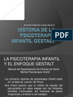 Historia de La Psicoterapia Infantil Gestalt