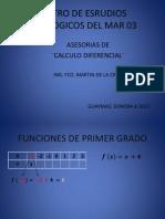 asesorias calculo diferencial