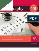Calligraphy 101 Text