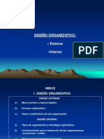 01 Diseño organizativo