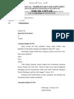 Surat Pemberhentian Siswa