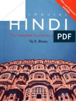 Colloquial Hindi the Complete Course for Beginners 2010 Tej K Bhatia Originl Copy