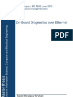 On-Board Diagnostics Over Ethernet (Electronics Project)
