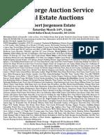 Jorgenson Estate Auction