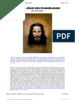 Le faux Jésus des Évangéliques
