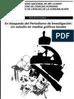 2011-EN BÚSQUEDA DEL PERIODISMO DE INVESTIGACION