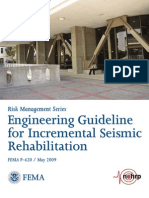 Engineering Guideline for Incremental Seismic Rehabilitation