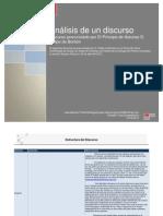 Análisis del discurso del Príncipe de Asturias D. Felipe de Borbón con motivo de la entrega del Premio Cervantes 2011 a Nicanor Parra.