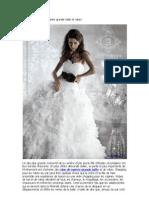 Où acheter robe de mariée grande taille et robes