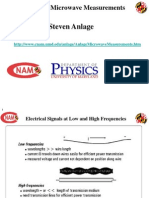 Basics of Microwave Measurements