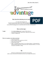 us redline advantage orientation packet 2012-2013