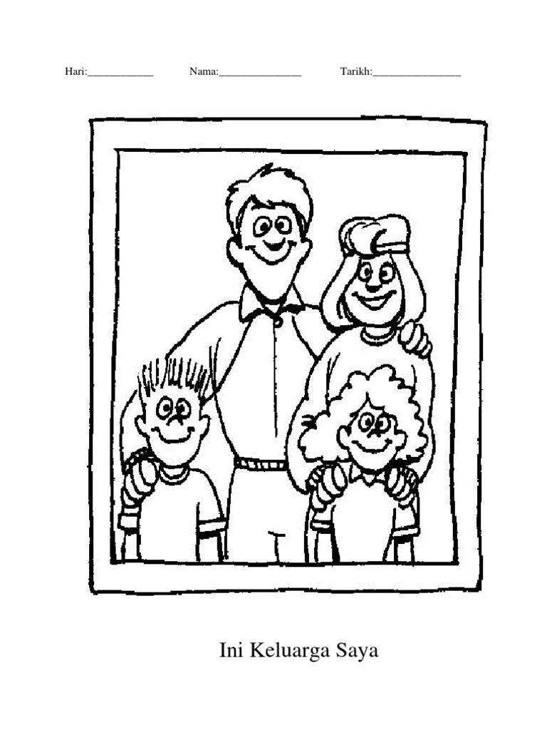 Gambar Keluarga Saya