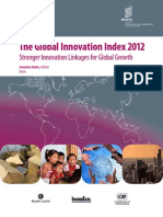 The Global Innovation Index 2012 Report