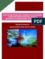 Laporan Rencana Terpadu Program Investasi Infrastruktur Jangka Menengah (RPI2JM) Batam Bintan Karimun 2012