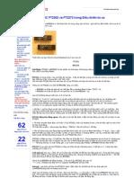 Sử dụng IC PT2262 và PT2272 trong Điều khiển từ xa - Bình Lưu Điện 2013