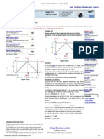 Analysis of Pin-jointed Truss - Method of Joints