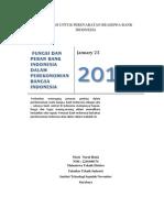 Fungsi Dan Peran Bank Indonesia Dalam Perekonomian Bangsa1