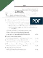 (Www.entrance-exam.net)-IETE ALCCS Computer Programming and Problem Solving Through C (CS11) Sample Paper 1