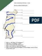 Teste HGP 5º Ano Clima, Rios, Portugal no sec XIII