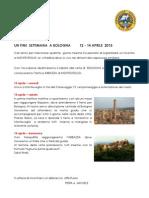 Programma Raduno Bologna 2013