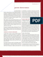 Report on Corp Governance