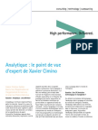 Accenture Analytique Point Vue Expert Xavier Cimino Video Transcript