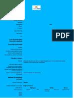 Model CV European in limba romana