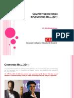 Cie Rcs in Cos Bill 2011