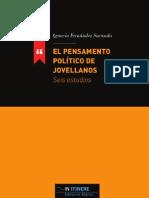 001 Pensamiento Poli Tico Jovellanos - In Itinere 01-El Pensamiento Politico de Jovellanos
