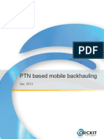 Mobile Backhauling Using MPLS