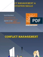 Conflict Management & Negotiation Skills