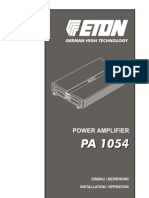 Eton PA 1054