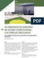 Paradoxos do Judiciário - Súmulas vinculantes