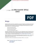 Mëso Microsoft Office 2003 (4 Programe)