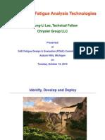 Advances in Fatigue Analysis Technologies