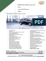 Chevrolet Cruze 5 Usi LTZ 1.8i 16v 141CP_31.03.2013