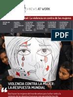 La violencia en contra de las mujeres