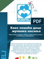 Kako pomoći deci žrtvama nasilja Udruženje Roditelj Kragujevac